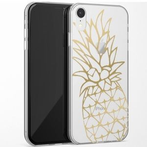 🆕 Casely iPhone 8 - Shiny Gold Pineapple Case
